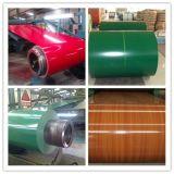 Corrugated рифленые листы материала толя PPGI покрынные цветом стальной гальванизированные катушкой