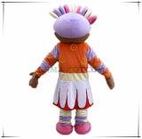 Costume della mascotte del personaggio dei cartoni animati della margherita di Upsy di buona qualità