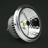 GU10 LED AR111 con talla estándar
