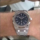 Wristwatch человека хронографа роскошный стальной