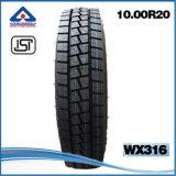 Tubo Yb900 Wx316 interior de neumáticos para camiones pesados 1000r20 radial de 18 capas