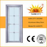 Portes en aluminium de salle de bains de conception indienne (SC-AAD069)