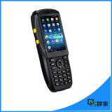 第2バーコードのスキャンナーおよびRFIDの読取装置との3.5in人間の特徴をもつ産業IP65 PDA