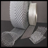 編む金網かGas-Liquidフィルター(実際に工場)