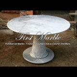 Tabella di marmo bianca per la decorazione Mbt-1182 del giardino