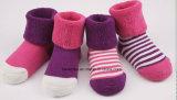 Katoenen van de Baby van de zuigeling Sokken (dl-BB-101)