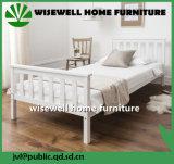 Het witte Eenpersoonsbed van het Meubilair van het Huis van de Kleur voor Volwassene (w-B-0096)