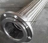 Manguito acanalado tejido inoxidable del metal de alta presión del alambre de acero