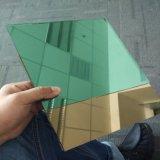 vidrio verde oscuro reflexivo de 4m m para la pared de cortina del edificio