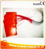 RubberVerwarmer 195*195mm van het silicone 12V 90W Zelfklevende 200-250c