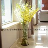 Cilíndrico com o frasco de vidro de 3 anéis para a decoração (JH-4111)