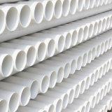 Tubo del plástico del PVC del drenaje del agua del bajo costo