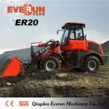 De Ce Goedgekeurde Lader van het VoorEind van Everun van de Machines van het Landbouwbedrijf Er20