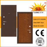 Cheap Steel MDF Armor Door