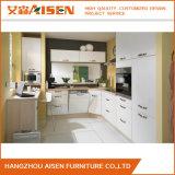 Gabinete de cozinha branco L da laca da mobília de 2016 HOME estilo