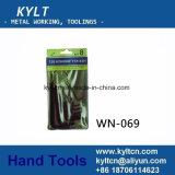 Комплект разводного гаечного ключа щариковой головки плакировкой никеля упаковки карточки Hex