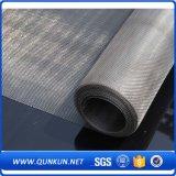 Rete metallica dell'acciaio inossidabile dai 25 micron con buona qualità