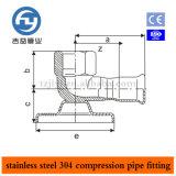Edelstahl-Rohrpresstechnik 90 Grad Famale Thema Elbow für Wasser Hydrant