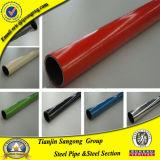 Tubo d'acciaio rivestito dell'ABS giallo per il fornitore di industria