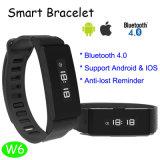 Le bracelet de Bluetooth intelligent le plus neuf avec les Multi-Fonctions (W6)