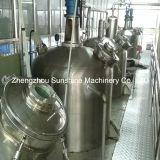 machine de raffinage de pétrole d'arachide de raffinage de l'huile 20t/D végétale