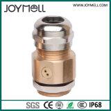 セリウムRoHS IP68はMの印刷部分のタイプNPTのタイプが付いているLEDの金属の換気ケーブル腺を防水する