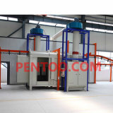 Industrial Coating를 위한 Powder Coating Line를 주문을 받아서 만드십시오