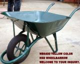 Construction popolare Wheelbarrow Wb6400 per Medio Oriente Market