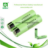 Cella di batteria protettiva NCR18650A del litio Rechargeable18650 3100mAh