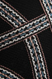 2017 neue Entwürfe stickten Ausdehnen-Stricken Verband Bodycon Kleider