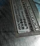 표하기 기계가 회전하는 장치를 가진 탁상용 Laser 표하기에 의하여 또는 Laser는 자전한다