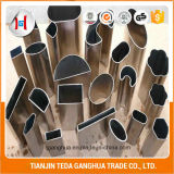 Tube soudé en acier inoxydable TP304 ou tuyau sans soudure