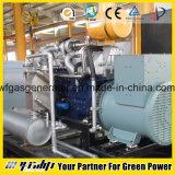 central energética da produção combinada do gás 500kw natural