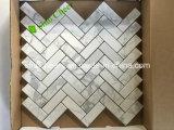 Mattonelle di mosaico dell'Italia Calacatta con buona qualità, mosaici di marmo bianchi di Calacatta Carrara