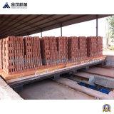 Distribuição verde do tijolo e máquina do portador/ajuste do tijolo para a máquina de fatura de tijolo/a máquina tijolo da pilha