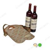 Rotwein-Flaschen-Kühlvorrichtung des Neopren-2-Pack mit justierbarem Riemen