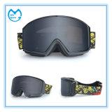 Темное Coated вспомогательное оборудование Eyewear катания на лыжах PC для предохранения от глаза