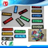 Rechargeable LED Name Badge 간단한과 Easy to Use