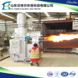 Incinerador Waste dos sacos de plástico médicos, incinerador do papel Waste, incinerador ardente do pneumático de borracha