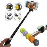 De nieuwe Vouwbare Stok van Selfie van het Aluminium van het Blind van de Klem Verre Mini met Smartphone