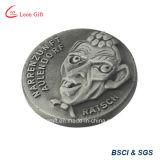 Commercio all'ingrosso in lega di zinco Bronze rosso della moneta del ricordo