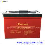 Bateria de alta temperatura 12V135ah do gel do armazenamento da potência