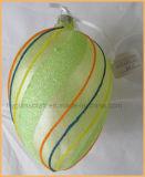 手の絵画東の装飾のためのガラス卵の装飾