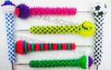 Het zachte Rubber Stekelige Stuk speelgoed van het Silicone van de Tegenhanger van de Bal