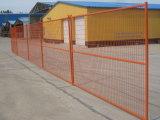 recinzione provvisoria saldata alta visibilità della rete metallica di 6FT*10FT