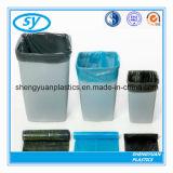 Sacs d'ordures en plastique de PE de qualité