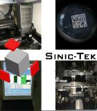 Wijd Laser die van de Vezel van het Gebruik 3D Online Machine op /ABS Pec van Metalen PCB van pvc merken