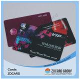 오프셋 인쇄 스마트 카드 PVC 플라스틱 무료 샘플 명함
