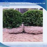 Cestas de la conexión de cadena tejida árbol de protección de raíz de malla de alambre