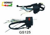 Peça da motocicleta Ww-8768, interruptor do punho da motocicleta GS125,